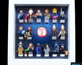 Display Frame for Lego Lord Of The Rings LOTR minifigures no figures 27cm