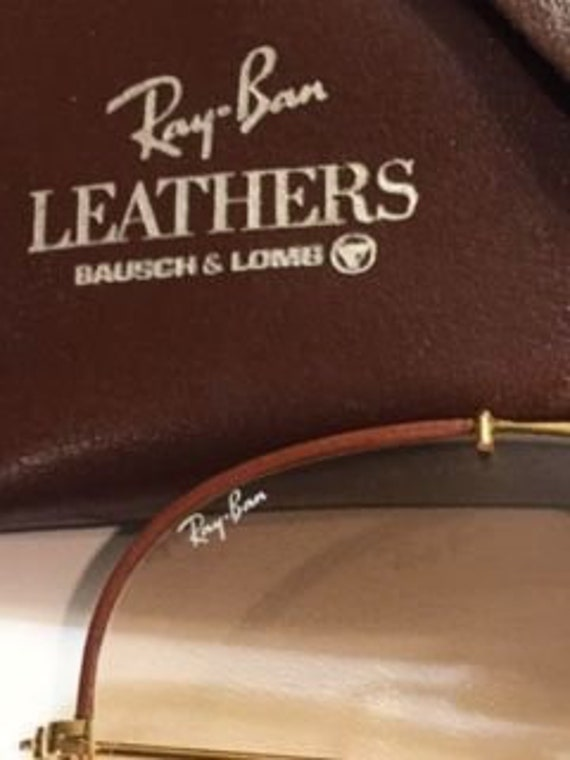 """Vintage Ray-Ban """"Leathers"""""""