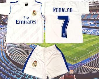 Ronaldo White Blanca Premium Soccer Jersey