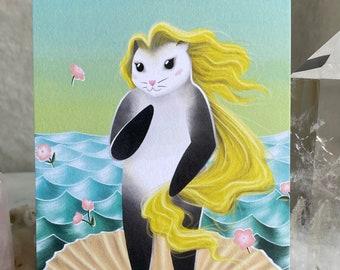"Birth of 'Possum 6x4"" Art Print"