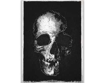 Gothic Skull Print (numbered, signed)
