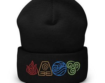 Air Nomads Cuffed Beanie Avatar Last Airbender Hat Knit Hat