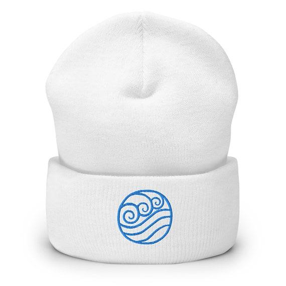 Earth Bender Logo Embroidered Beanie Hat Avatar The Last Airbender Cuffed Beanie Legend Of Korra