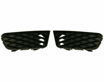 Honda Civic Front Bumper Lower Grille Outer Set  Rh Fits 2009-2011