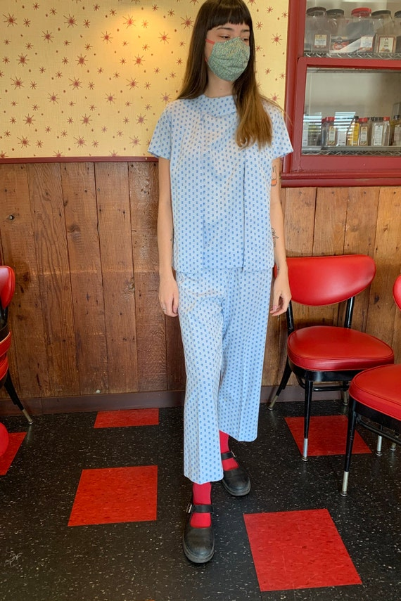 1960s Leisure Suit/3 Pieces/Vest/Handmade/One of a