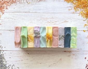 Handmade Soap Bar ∙ Cold-Process Bar Soaps ∙ Natural Shea Butter Soap ∙ Goat Milk Soap ∙ Aloe Vera Soap ∙ Birthday ∙ Wedding ∙ Holiday Gifts
