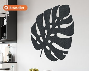 Monstera Wall Decoration - Botanical - Dutch Design - Recycled Material - Tropical - Nature - Bohemian - Living Room Decor