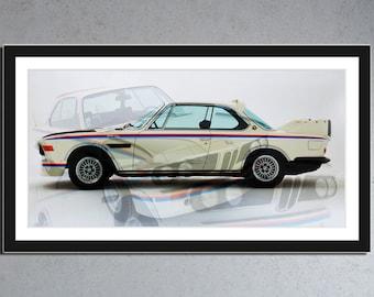 BMW 3.0 CSL - Batmobil