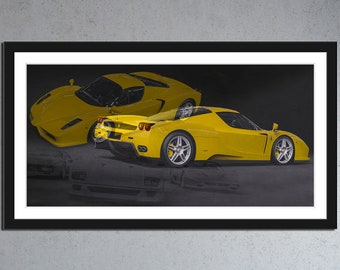 Ferrari Enzo - yellow