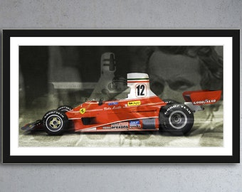 Ferrari Formula 1 - the icon Niki Lauda