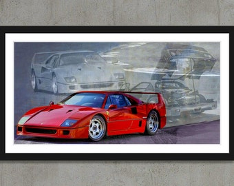 Ferrari F40 - the icon of the 80s