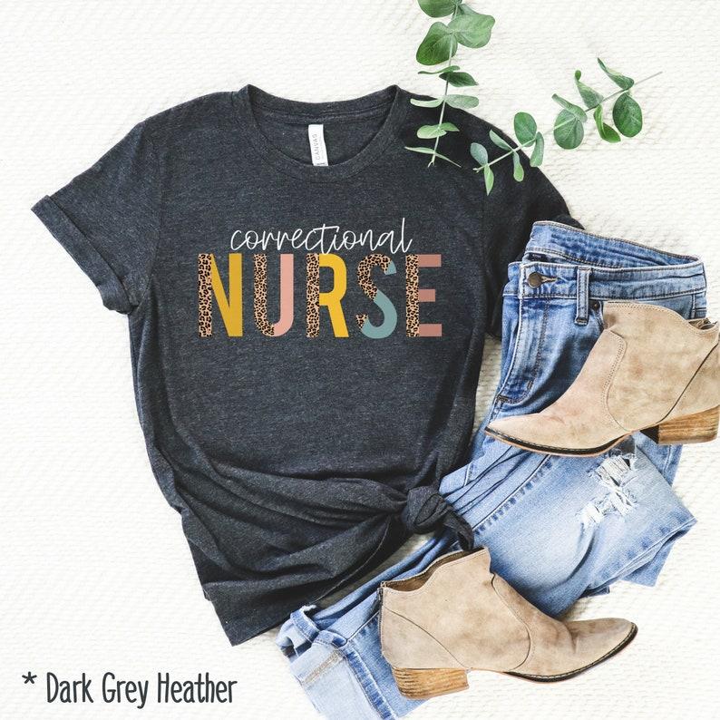 Gearhuman –  Corrections Nurse Shirt Prison Nurse Shirt Officer Nurse – 3D Tshirt – TH-0082