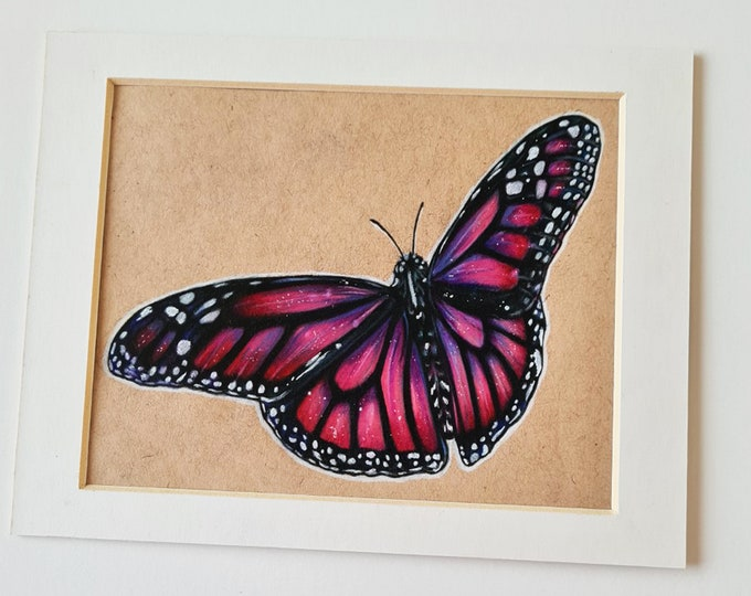 Little butterfly drawing | Little insects