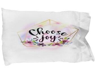 Choose Joy Pillow Etsy