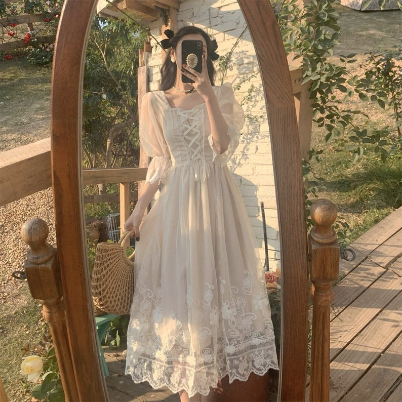 French Vintage Fairy Dress