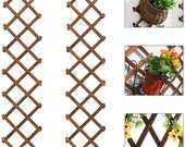 Wooden Wall Planter, Expandable Plant Climb,Hanging Planter,Vertical Rack Wall Decor,Air Plant Wall Hanging,Lattice Plant Support 203 - HGP
