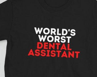Bella Canvas Dentist Racerback Sublimation Womens Dentist Shirt Dentist Tank Dentist Shirt Gift For Dentist, World/'s Okayest Dentist