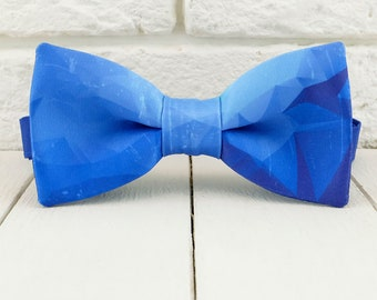 gift under 20 ring bearer family photo Indigo Navy Bow Tie for all ages navy wedding photo prop pre tied bowtie church