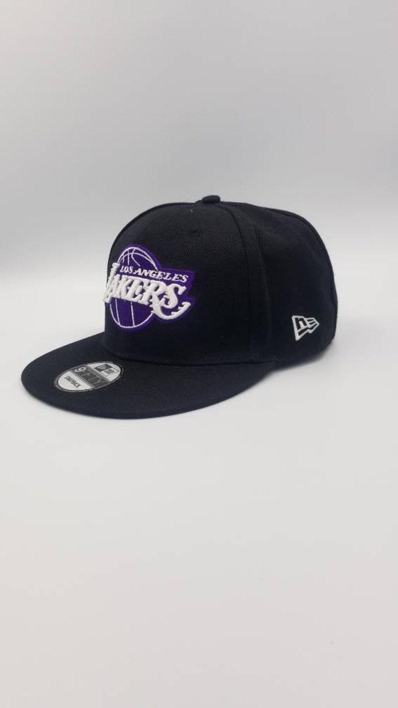 BRAND NEW*** Los Angeles Lakers Snapback Hat 9fifty 950 New Era Kobe Bryant Black Mamba