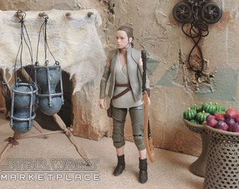 Market Stall Hanging Containers from Star Wars