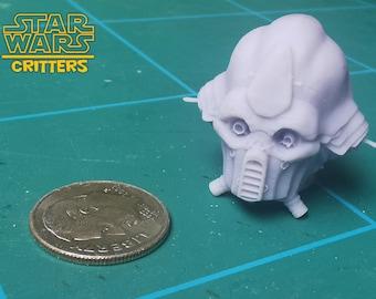 Tognath Head Sculpt from Star Wars