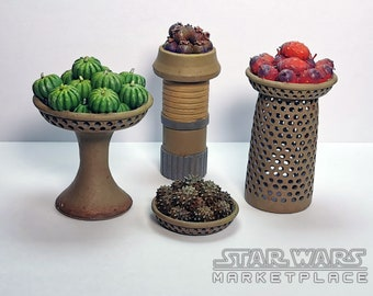 Market Stall Fruit Baskets from Star Wars