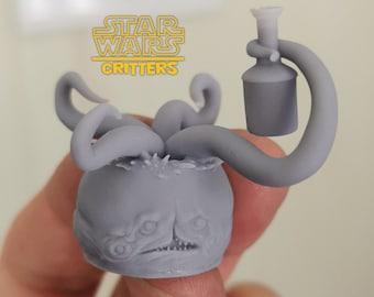 Nabian Head Sculpt from Star Wars