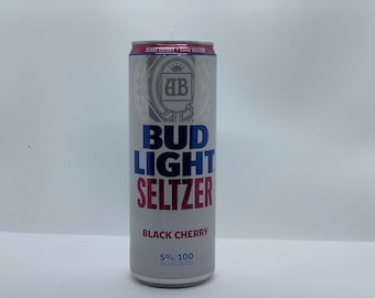 Hard Seltzer Can Candle   recycled can candle   100% soy wax candle   beer candle   black cherry
