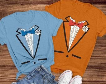 Dumb And Dumber Tuxedo T-Shirt Dumb And Dumber Couple Shirt Dumb And Dumber Movies T-Shirt Harry and Lloyd Tuxedos T-Shirt