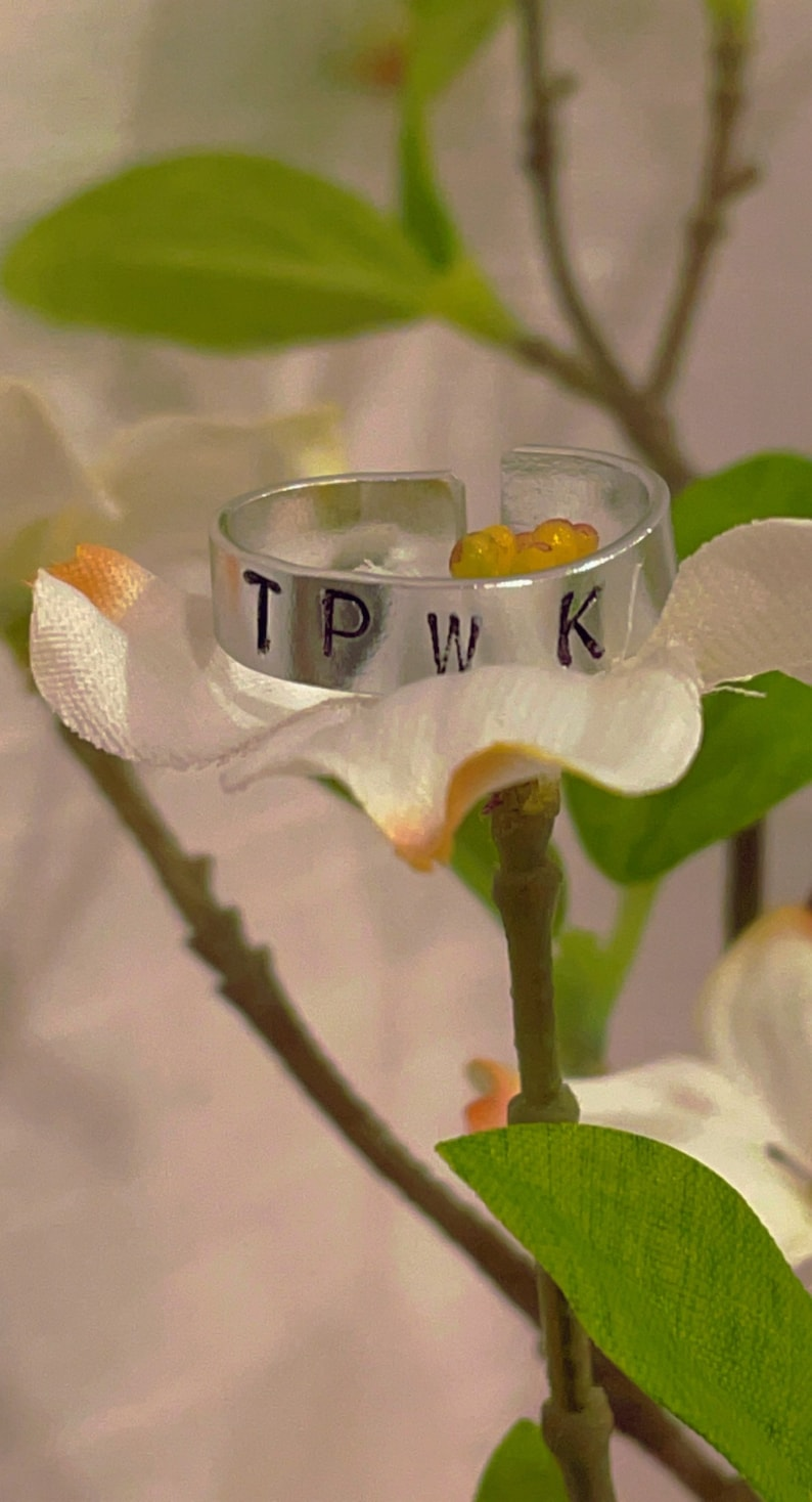 TPWK Engraved Ring