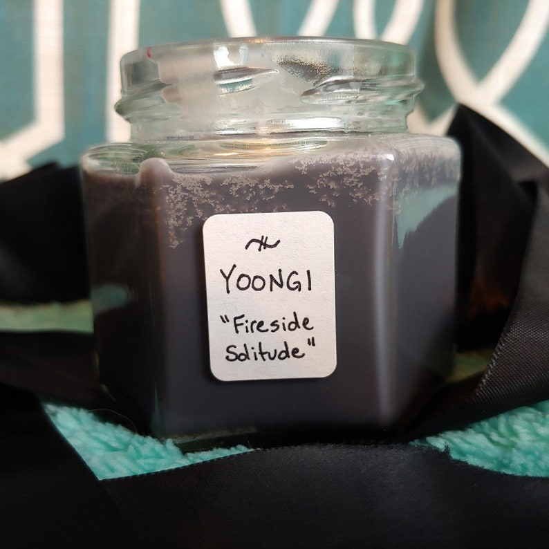 FIRESIDE SOLITUDE BTS Yoongi inspired candle Home Dcor Home ...