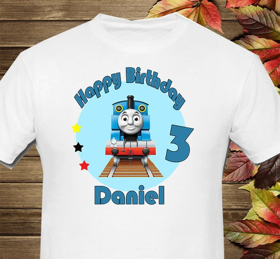 Thomas The Train Iron On Transfer Mommy Digital Printable File Only High Resolution Image Thomas The Train Birthday DIY Iron On Transfer