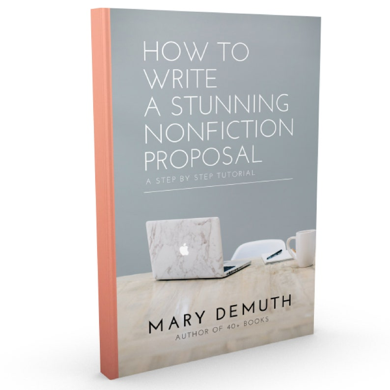 How to Write a Stunning Nonfiction Proposal // Book Tutorial image 0