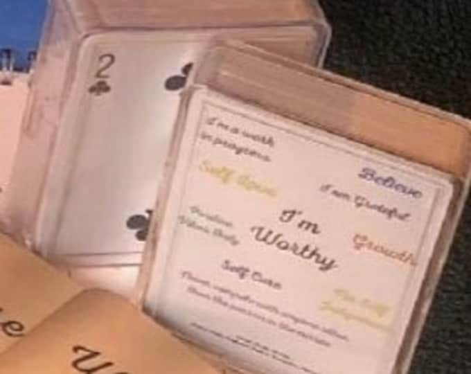 Deck of Playing Cards (Positive Affirmations)