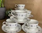 Noritake Arroyo 6318 - 6 Piece Tea Set - Rare New Old Stock
