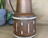 West German Esr Sawa Vase #347-25