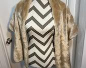 Vintage Faux Fur Stole 1950's 1960's beautiful condition. Imre Melbourne