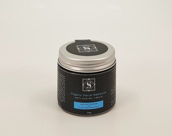 Organic Facial Radiance Anti-Ageing Cream with AHA