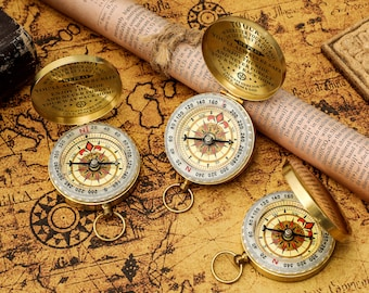 To Our Son Wherever Your From Mom /& Dad Customized Compass for Anniversary Birthday Wedding Graduation Holidays Gift Navy Sailor Marine
