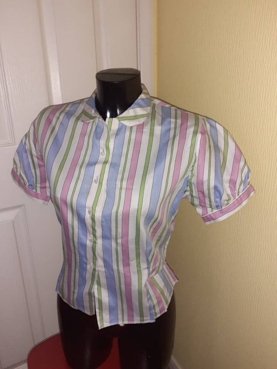 1950s blouse