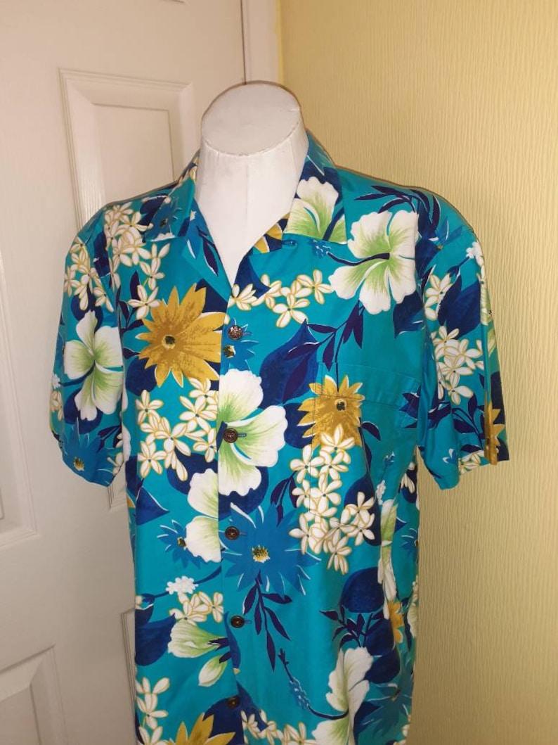1950s mens Hawaiian shirt