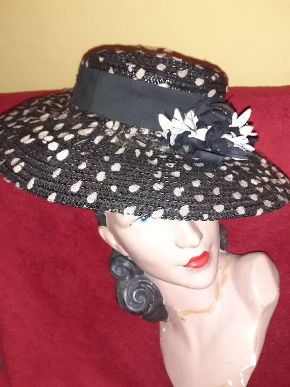 1940s hat  tilt