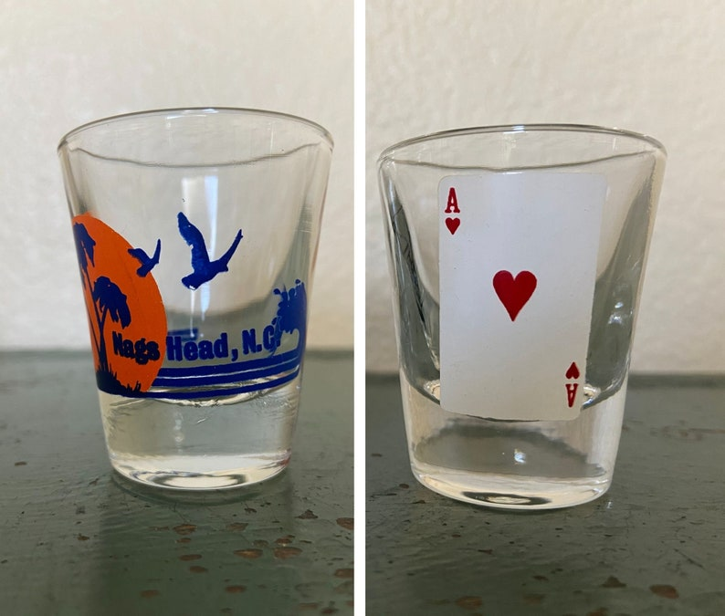 From the 70s /& On Vintage Souvenir Shot Glasses