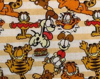 1980's Comic book Cat custom fabric tumbler cuts