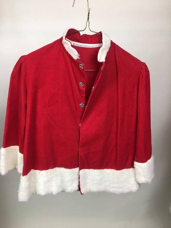 VINTAGE Children's Fancy Santa Claus Suit
