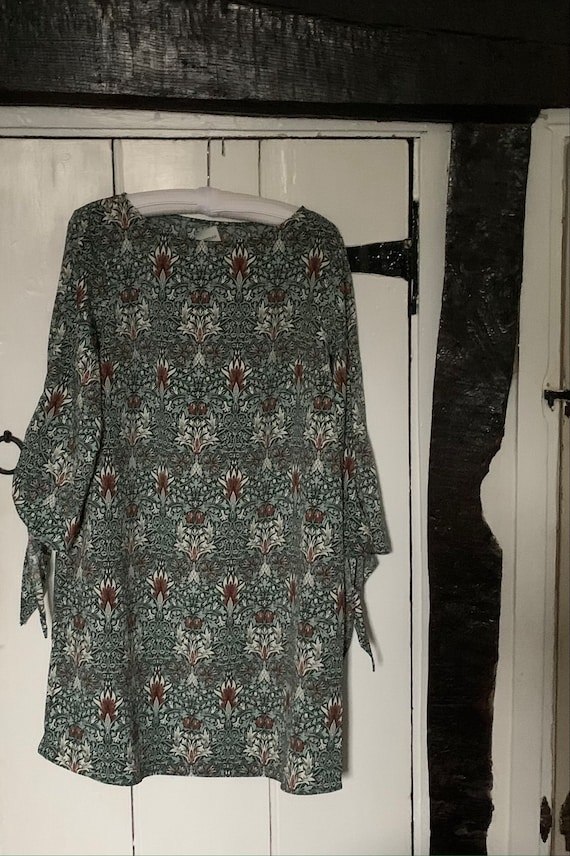 William Morris Tunic dress (Free postage UK only)