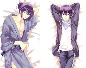 ONLY PILLOW CASE Noragami Yato and Yukine Body Pillow Case | Anime Dakimakura Case