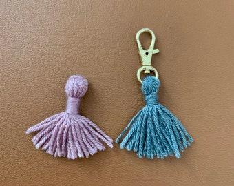2.5cm Boho Style Earring Tassels Decorative Tassel 10 pcs  T25CJ-25 Brown Mini Tassels