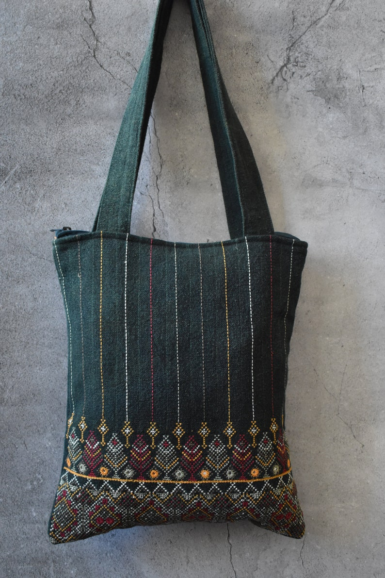 natural dye Eco Friendly Gifts Tote BagShoulder bags bohemian bag womens bagHand embroidered bag Mother/'s day gift Reusable Bag
