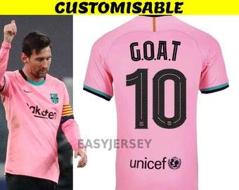 Barcelona Away Match Football Shirt 2020  21 Soccer Jersey Barca Adult sizes S-XXL Customisable
